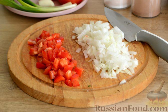 Фото приготовления рецепта: Чечевичный суп с говядиной и овощами - шаг №4