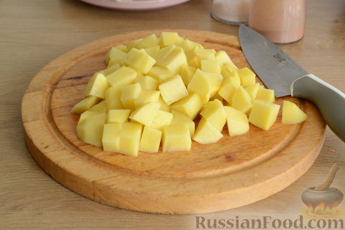 Фото приготовления рецепта: Чечевичный суп с говядиной и овощами - шаг №8