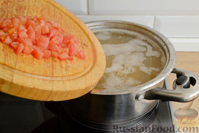Фото приготовления рецепта: Чечевичный суп с говядиной и овощами - шаг №13