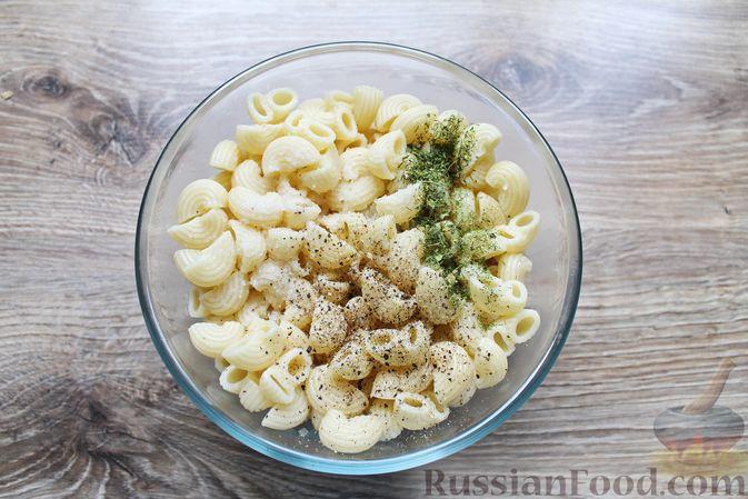 Фото приготовления рецепта: Тефтели из мясного фарша и макарон (в духовке) - шаг №11