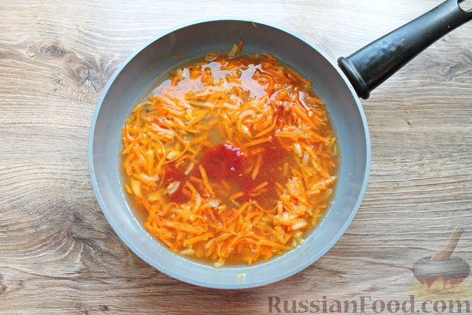 Фото приготовления рецепта: Тефтели из мясного фарша и макарон (в духовке) - шаг №6