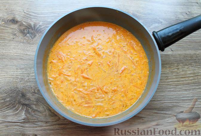 Фото приготовления рецепта: Тефтели из мясного фарша и макарон (в духовке) - шаг №8
