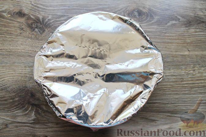 Фото приготовления рецепта: Тефтели из мясного фарша и макарон (в духовке) - шаг №17