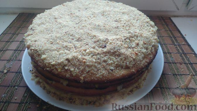 Фото приготовления рецепта: Пирог из песочных коржей, с лимонной начинкой - шаг №18
