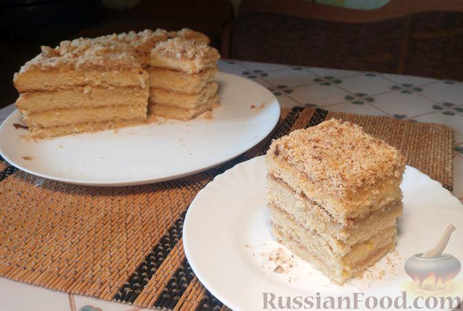 Фото приготовления рецепта: Пирог из песочных коржей, с лимонной начинкой - шаг №19