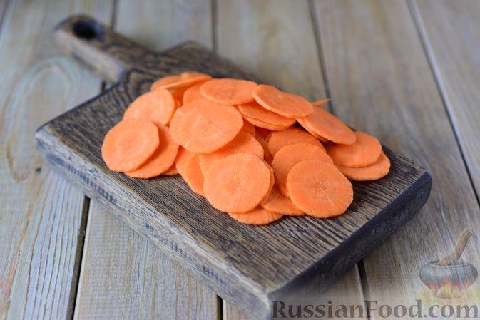 Фото приготовления рецепта: Сибас с цветной капустой, брокколи и морковью (на пару) - шаг №2