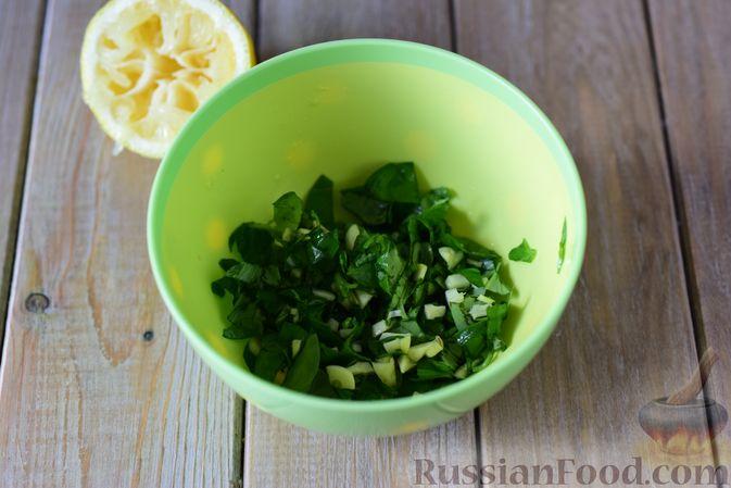 Фото приготовления рецепта: Сибас с цветной капустой, брокколи и морковью (на пару) - шаг №4