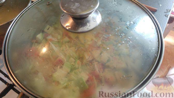 Фото приготовления рецепта: Овощной суп-рагу - шаг №13