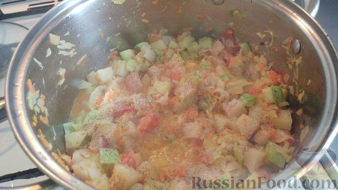 Фото приготовления рецепта: Овощной суп-рагу - шаг №14