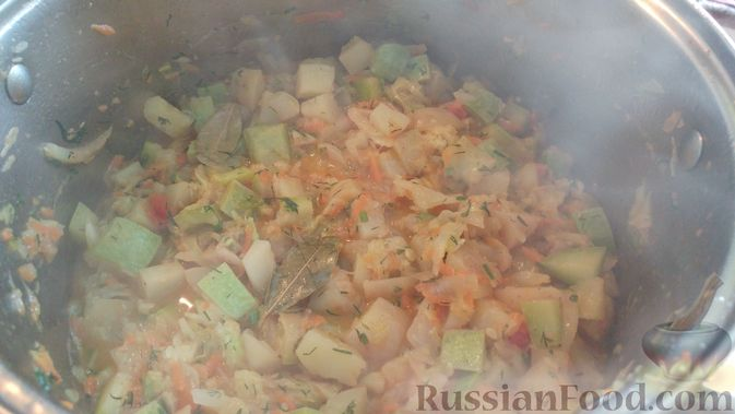 Фото приготовления рецепта: Овощной суп-рагу - шаг №16