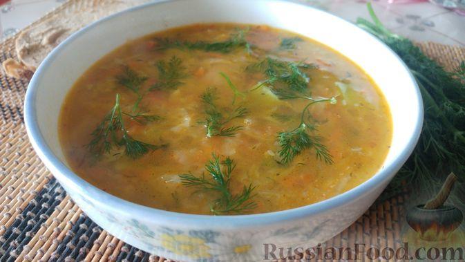 Фото к рецепту: Овощной суп-рагу