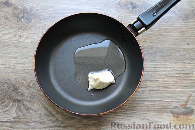 Фото приготовления рецепта: Мясные рулетики с чесночно-томатной начинкой (в духовке) - шаг №2