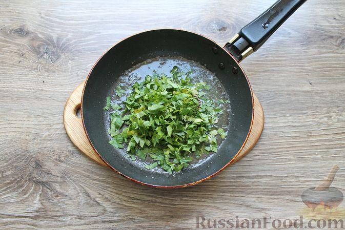 Фото приготовления рецепта: Мясные рулетики с чесночно-томатной начинкой (в духовке) - шаг №5