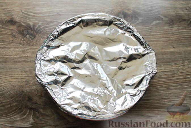 Фото приготовления рецепта: Мясные рулетики с чесночно-томатной начинкой (в духовке) - шаг №12