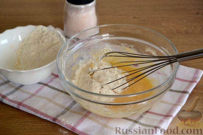 Фото приготовления рецепта: Суп с галушками - шаг №5