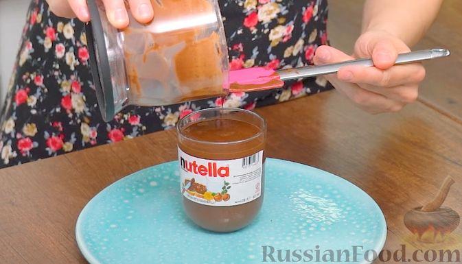 Фото приготовления рецепта: Домашняя шоколадно-ореховая паста - шаг №8