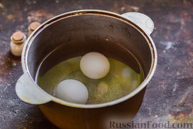 Фото приготовления рецепта: Щи со щавелем и шпинатом - шаг №2