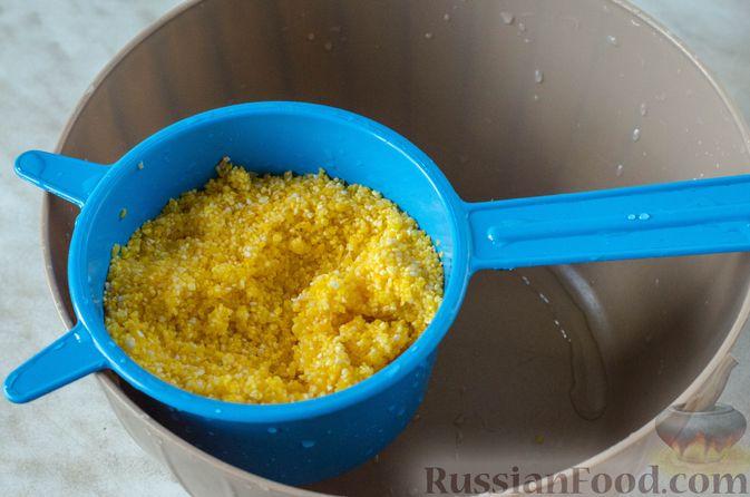 Фото приготовления рецепта: Голубцы с кукурузной крупой - шаг №5