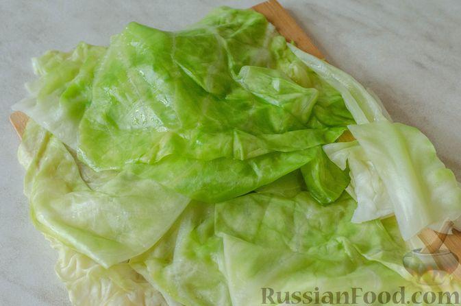 Фото приготовления рецепта: Голубцы с кукурузной крупой - шаг №11