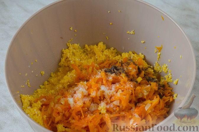 Фото приготовления рецепта: Голубцы с кукурузной крупой - шаг №12