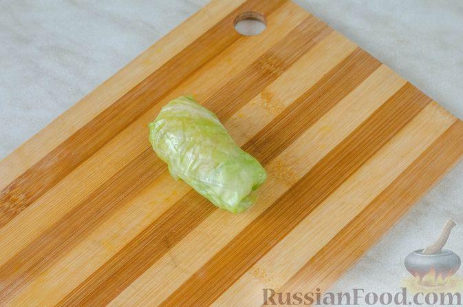 Фото приготовления рецепта: Голубцы с кукурузной крупой - шаг №14