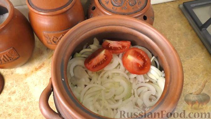 Фото приготовления рецепта: Басма с курицей в духовке - шаг №6