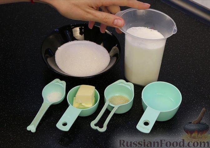 Фото приготовления рецепта: Шоколадный брауни со сливочно-карамельным кремом - шаг №1