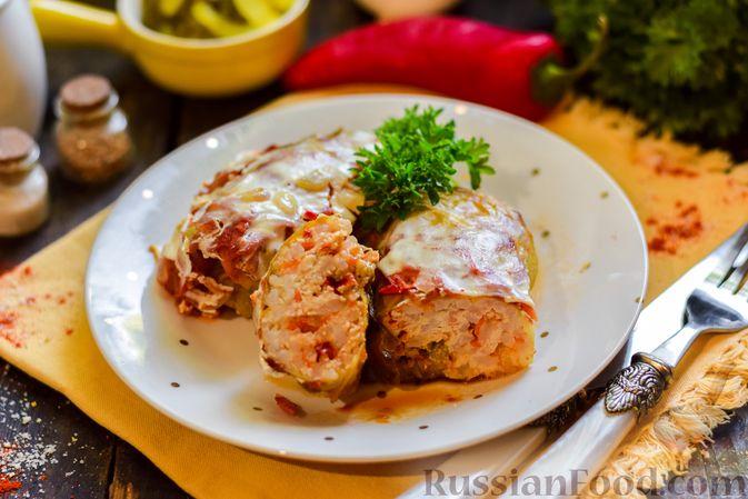 Фото приготовления рецепта: Бутерброды с намазкой из варёных яиц, солёных огурцов и сосисок - шаг №10