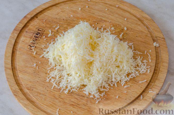 Фото приготовления рецепта: Кебаб из говядины, с сыром - шаг №5