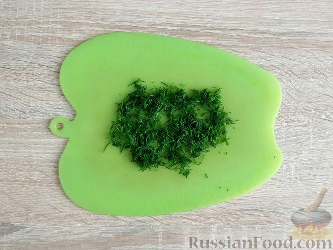 Фото приготовления рецепта: Рубленые куриные котлеты с консервированной кукурузой и зеленью - шаг №3