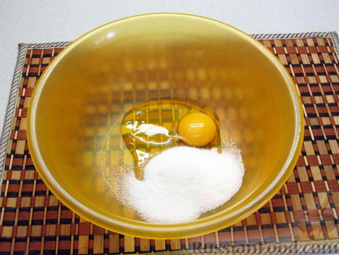 Фото приготовления рецепта: Оладьи на воде - шаг №2