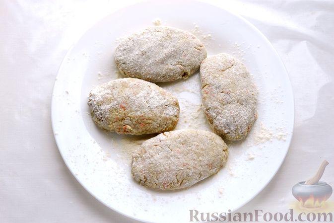Фото приготовления рецепта: Котлеты из скумбрии - шаг №12