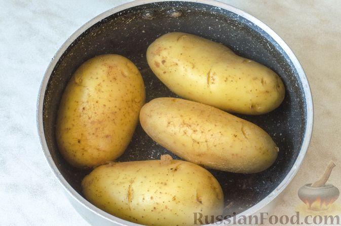 Фото приготовления рецепта: Рагу из говядины в томатном соусе, с картофельными ньокками - шаг №9