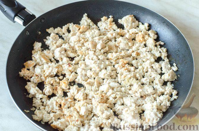 Фото приготовления рецепта: Отрывной пирог с курицей - шаг №12