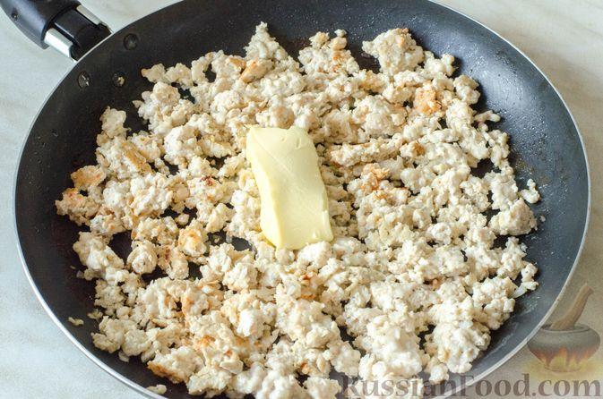 Фото приготовления рецепта: Отрывной пирог с курицей - шаг №13