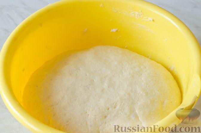 Фото приготовления рецепта: Отрывной пирог с курицей - шаг №19