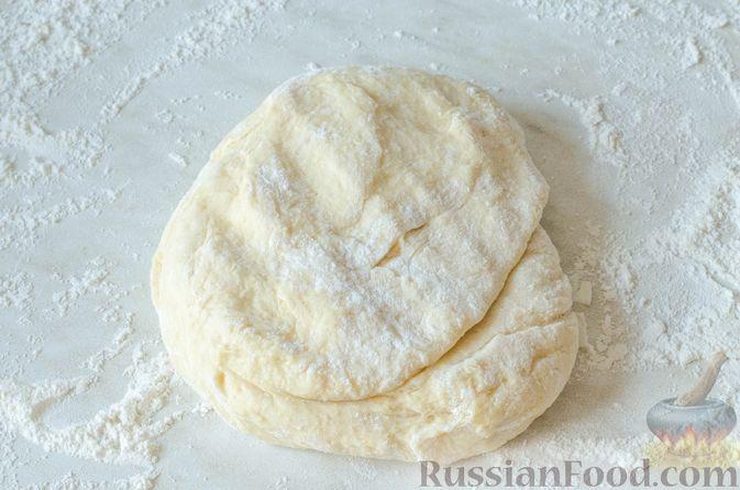 Фото приготовления рецепта: Отрывной пирог с курицей - шаг №20