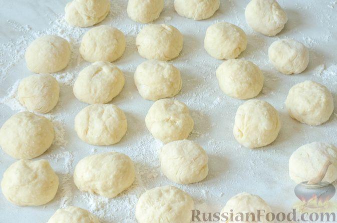 Фото приготовления рецепта: Отрывной пирог с курицей - шаг №21