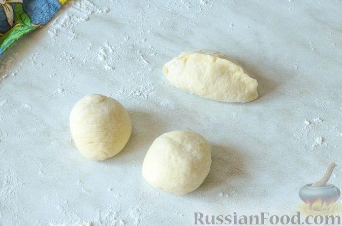 Фото приготовления рецепта: Отрывной пирог с курицей - шаг №24