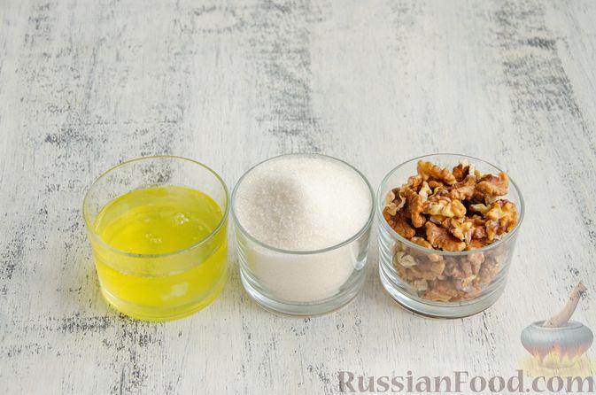 Фото приготовления рецепта: Безе с орехами - шаг №1