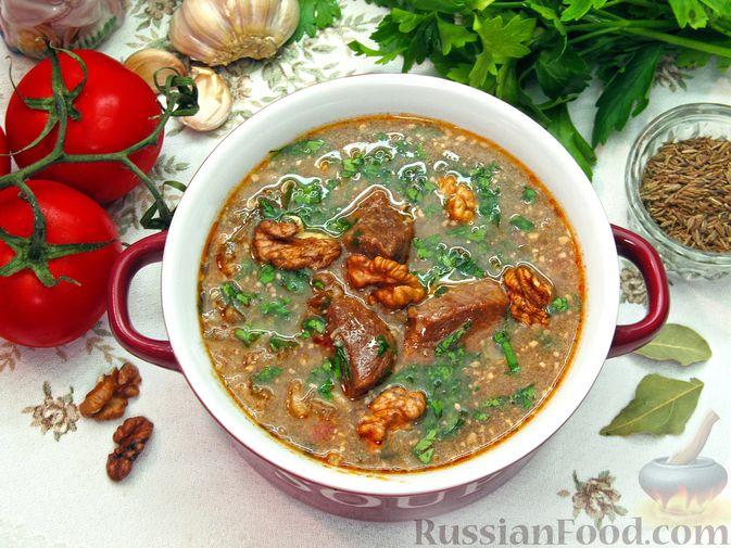 Фото приготовления рецепта: Суп харчо - шаг №21