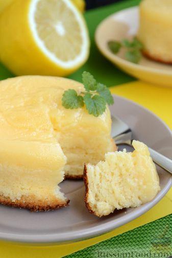 Фото приготовления рецепта: Лимонные пирожные - шаг №19