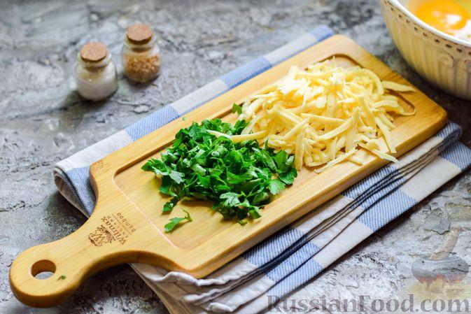 Фото приготовления рецепта: Запеканка из кабачка, моркови и овсяных хлопьев - шаг №7