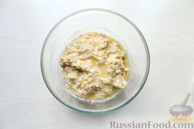 Фото приготовления рецепта: Дрожжевые пирожки со щавелем - шаг №12