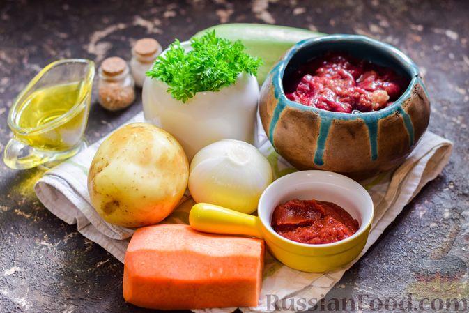 Фото приготовления рецепта: Куриная печень, тушенная с молодой картошкой и кабачками - шаг №1