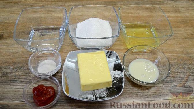 Фото приготовления рецепта: Двухслойные конфеты «Птичье молоко» с клубникой - шаг №1
