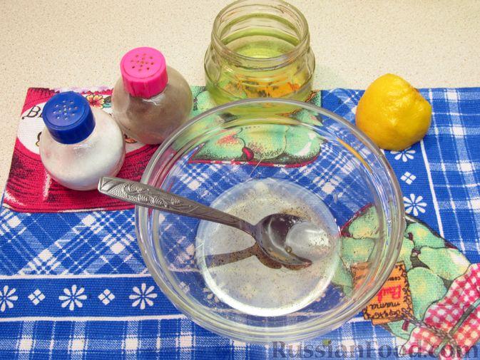 Фото приготовления рецепта: Салат из помидоров и фасоли - шаг №7