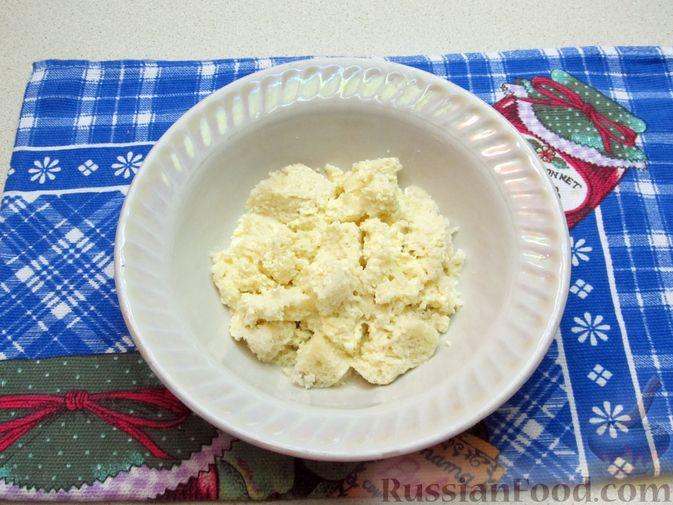 Фото приготовления рецепта: Рыбные зразы с плавленым сыром - шаг №3