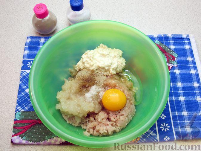 Фото приготовления рецепта: Рыбные зразы с плавленым сыром - шаг №5