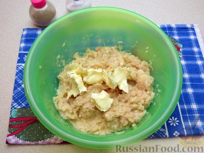 Фото приготовления рецепта: Рыбные зразы с плавленым сыром - шаг №7